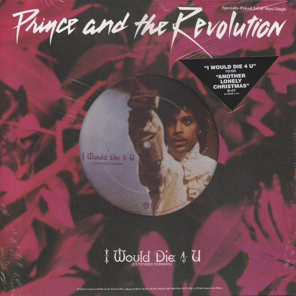 Prince & The Revolution - I Would Die 4 U (Extended Version) / Another Lonely Christmas в магазине виниловых пластинок Авант Шоп www.avantshop.ru