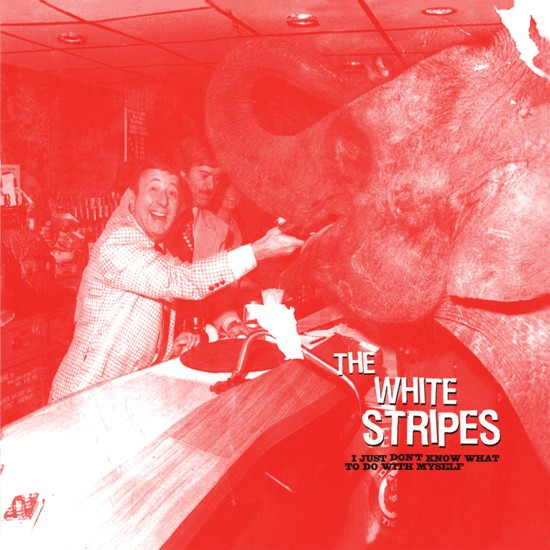 The White Stripes - I Just Don't Know What to Do With Myself b/w Who's to Say? в магазине виниловых пластинок Авант Шоп www.avantshop.ru