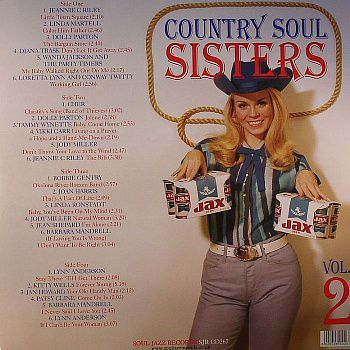 Various Artists (Сборник) - Country Soul Sisters Vol. 2 (1956-1979)