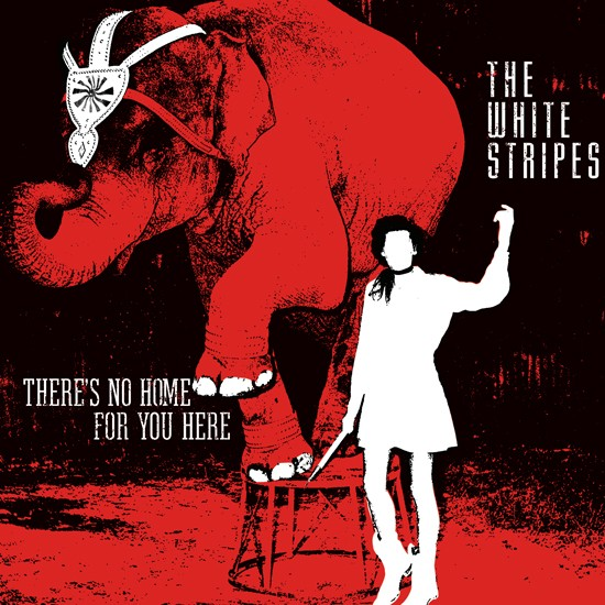 The White Stripes - There's No Home For You Here b/w I Fought Piranhas/Let's Build a Home в магазине виниловых пластинок Авант Шоп www.avantshop.ru