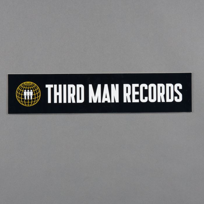 Наклейка на бампер Third Man Records