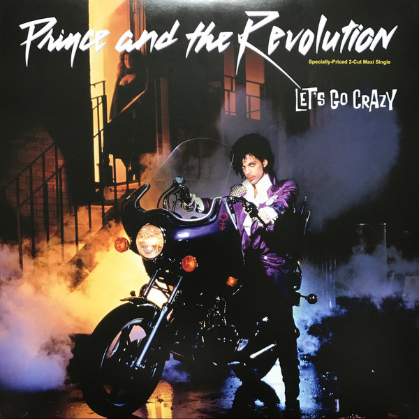Prince & The Revolution - Let'S Go Crazy (Special Dance Mix) / Erotic City в магазине виниловых пластинок Авант Шоп www.avantshop.ru