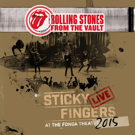 Rolling Stones, The - Sticky Fingers Live At The Fonda Theatre (+DVD) в магазине виниловых пластинок Авант Шоп www.avantshop.ru