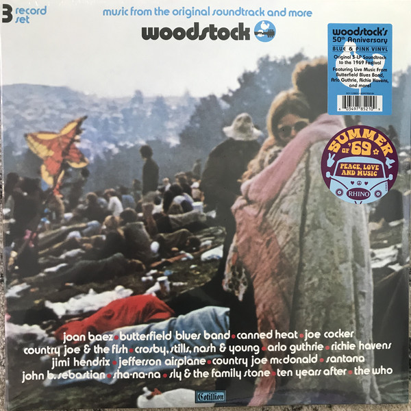 Various Artists - Woodstock: Music From The Original Soundtrack And More в магазине виниловых пластинок Авант Шоп www.avantshop.ru